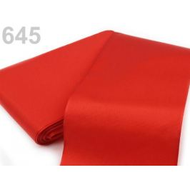 Stuha taftová šírka približne 10,8 cm červená  10m