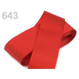Stuha taftová šírka 52mm červená šarlatová 10m