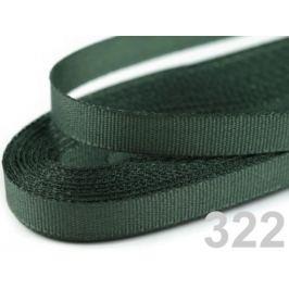 Stuha taftová šírka 6mm zelená khaki 10m
