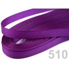 Stuha taftová šírka 6mm fialová tm. 10m