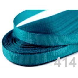 Stuha taftová šírka 9mm modrá tyrkys. 10m