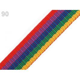 Popruh polypropylénový šírka 20 mm multikolor 5m