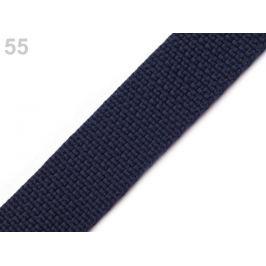 Popruh polypropylénový šírka 25 mm modrošedá tm. 5m