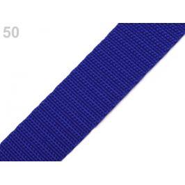 Popruh polypropylénový šírka 25 mm modrá královská 5m