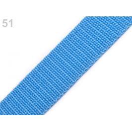 Popruh polypropylénový šírka 30 mm modrá sýta 5m