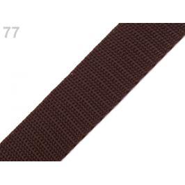 Popruh polypropylénový šírka 30 mm hnedá tm. 5m