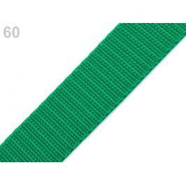 Popruh polypropylénový šírka 30 mm zelená smaragdová 5m