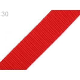 Popruh polypropylénový šírka 30 mm červená 5m
