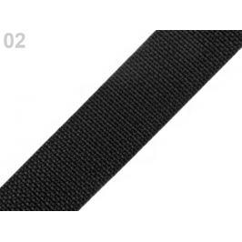 Popruh polypropylénový šírka 30 mm čierna 5m