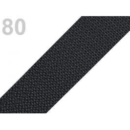 Popruh polypropylénový šírka 40 mm šedočierna tm. 5m