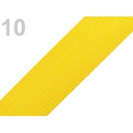 Popruh polypropylénový šírka 40 mm žltá 5m