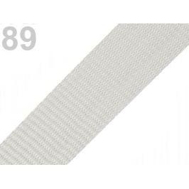 Popruh polypropylénový šírka 40 mm šedá holubia 5m