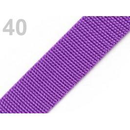Popruh polypropylénový šírka 40 mm fialková 5m