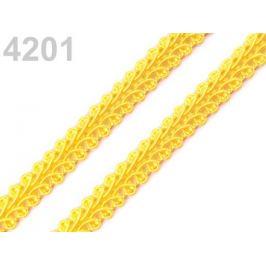 Prámik šírka 10 mm žltá 25m