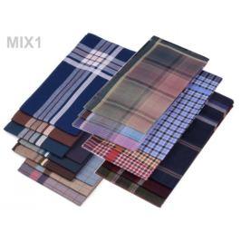 Pánska vreckovka mix náhodných variant 6ks