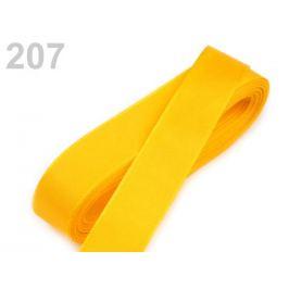 Stuha taftová šírka 15mm žltá   10m