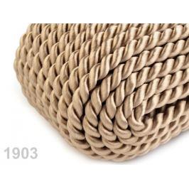 Šnúra  krútená Ø5mm ecru 25m