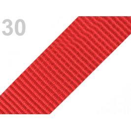 Popruh polypropylénový šírka  47-50 mm červená 5m