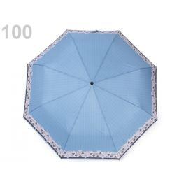 Dáždnik dámsky prúžky modrá sv. 1ks