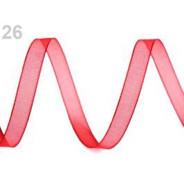 Monofilová stuha šírka 7 mm červená 27m Stoklasa