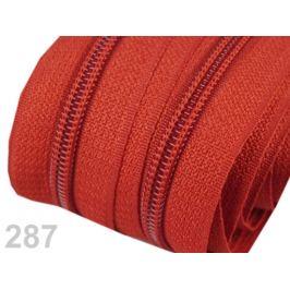 Zips špirálový 5mm metráž pre bežce typu POL Cherry Tomato 5m