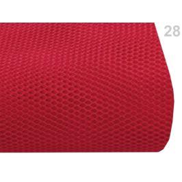 Tyl tuhý PAD na krinolínu červená 1m