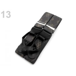 Traky šírka 3,5 cm, dĺžka 120 cm šedá 1ks