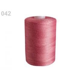 Polyesterové nite pre overlocky aj klasické šitie návin 1000 m PES 40/2 James ružovofialová 10ks Stoklasa