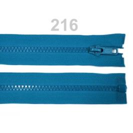 Kostený zips šírka 5 mm dĺžka 35 cm bundový Blue Danube 1ks Stoklasa