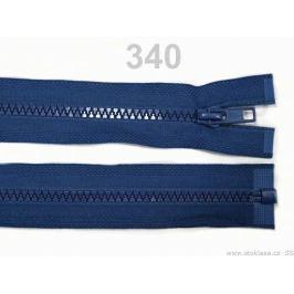 Kostený zips šírka 5 mm dĺžka 65 cm bundový aquazon 1ks Stoklasa