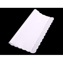 Bavlnená vreckovka do saka biela 1ks