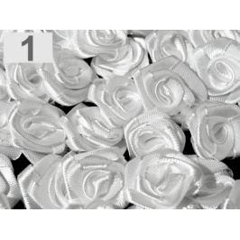 Textilná ružička Ø13-15 mm biela 50ks Stoklasa