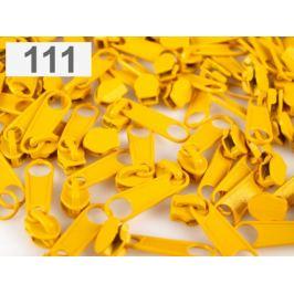Bežec ku špirálovým zipsom 3 mm pre metráž typu POL Daffodil 10ks