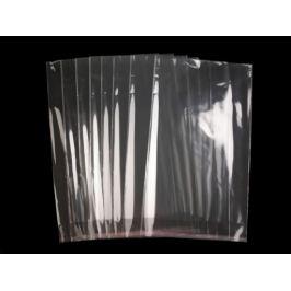 Celofánové sáčky s lepiacou lištou 24x39 cm Transparent 100ks Stoklasa