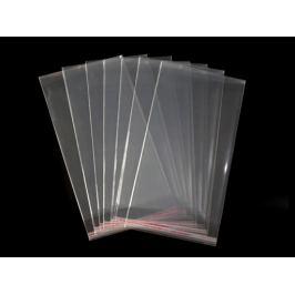 Celofánové sáčky s lepiacou lištou 14x25 cm Transparent 100ks Stoklasa
