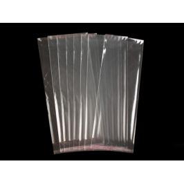 Celofánové sáčky s lepiacou lištou 13x33 cm Transparent 100ks Stoklasa