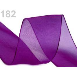 Monofilová stuha šírka 40 mm fialová gebera 27m Stoklasa