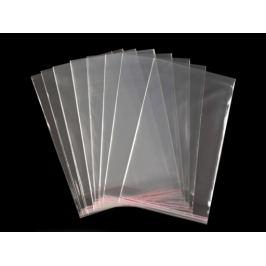 Celofánové sáčky s lepiacou lištou 13x20 cm Transparent 100ks Stoklasa