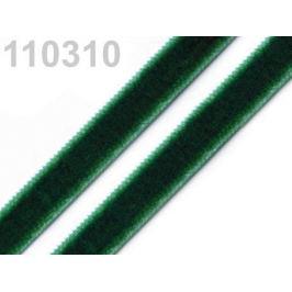 Stuha zamatová šírka 9 mm zelenomodrá 5m