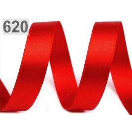 Allasová stuha obojlíca šírka 15 mm červená 20m