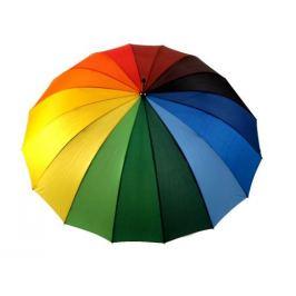Dámsky dáždnik dúha multikolor 1ks