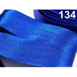 Šikmý prúžok saténový šírka 30mm zažehlený rozmeraný Olympian Blue 20m