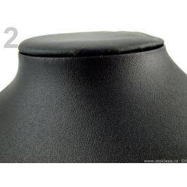 Dekolt dámsky aranžérský 22x28 cm koženka čierna 1ks Stoklasa