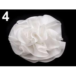Ozdoba ruža  Ø 10 cm biela 1ks Stoklasa