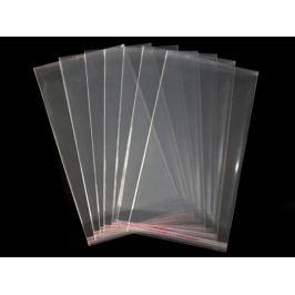 Celofánové sáčky s lepiacou lištou 20x50 cm Transparent 100ks Stoklasa