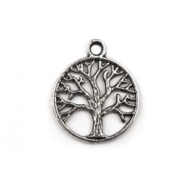 Prívesok strom života Ø20 mm platina 4ks Stoklasa