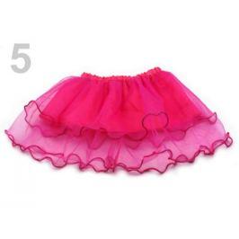 Karnevalová sukienka - detská obojstranná ružová ostrá 1ks Stoklasa