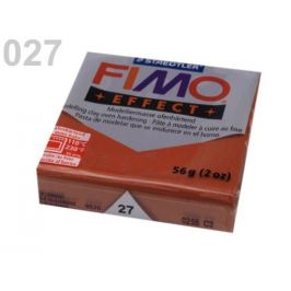 Fimo 56-57 g EFFECT červenohnedá 1ks