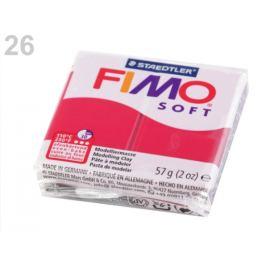 Fimo 57 g Soft červená tm 1ks