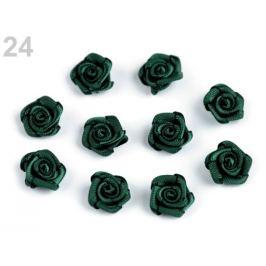 Ruža Ø10 mm zelená tm. 10ks Stoklasa
